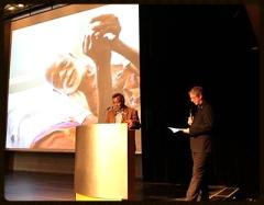 Mussa Khamis Mussa Keznote speaker beim Rosa Detlef 2014